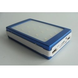 Solar Charger Power Bank N656 30000mAh 2USB 4Led инд. 20Led фон.
