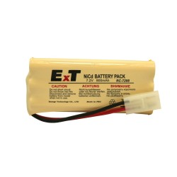 Аккум. ExT RC-7208 BL1. 7.2V, 800mAh, Ni-Cd,  разъём TmB